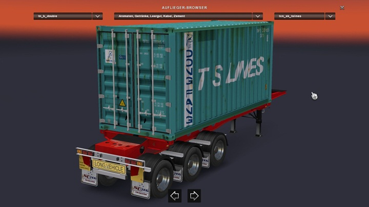 """Photo of ATS – Container Skin Edit for the Southern Cross """" SuperLite """" B-Double from RTA [1.28]"""