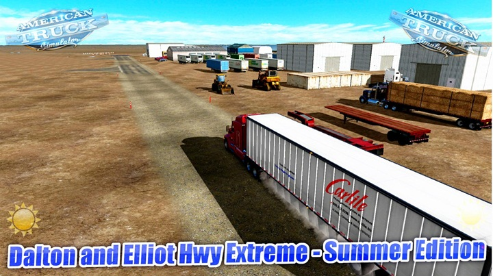 Photo of ATS – Dalton and Elliot Hwy Extreme – Summer Edition V 1.0 (1.28.X)
