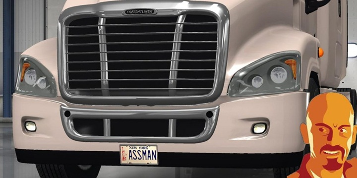 Photo of ATS – Freightliner Cascadia Custom Plate (1.28.X)