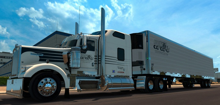Photo of ATS – Hunt Trucking Skin (1.28.X)