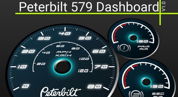 Photo of ATS – Peterbilt 579 Dashboard (1.28.X)
