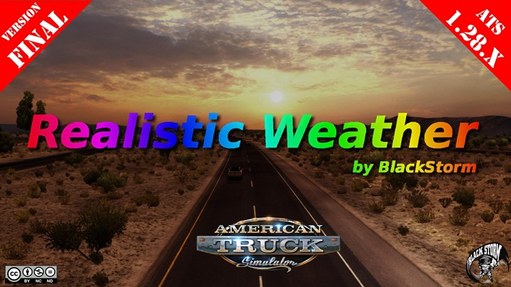 Photo of ATS – Realistic Weather Mod (1.28.X) Final