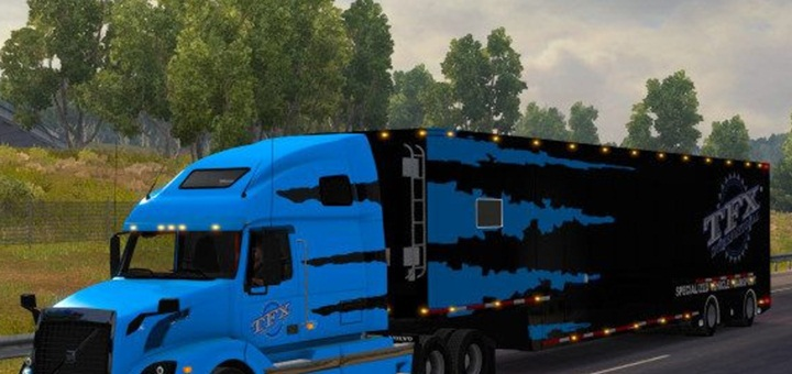 Photo of ATS – TFX Specialized Transport Combo for Volvo VNL 670 (1.28.X)