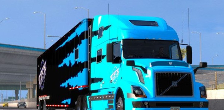 Photo of ATS – TFX Specialized Transport Skin for Volvo 780 (1.28.X)
