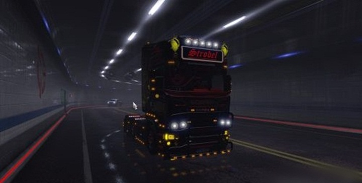 Photo of ETS 2 – ATS Tunnel Background in ETS2 (1.28.X)
