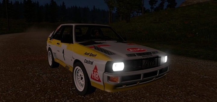 Photo of ETS 2 – Audi S1 Quattro Rally Edition (1.28.X)