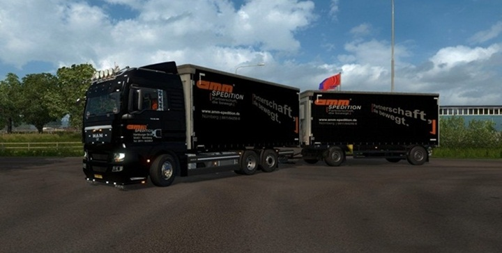 Photo of ETS 2 – Man TGX 2010 Truck V3.9 (1.28.X)