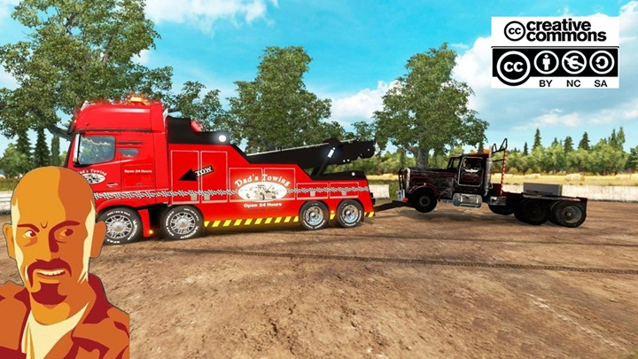 Photo of ETS 2 – Mercedes Benz Actros MP IV Crane Truck (1.28.X)