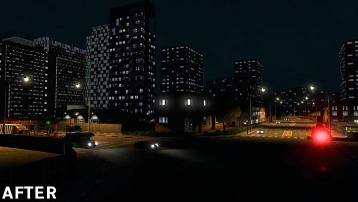 Photo of ETS 2 – Realistic Building Lights Mod V2.2 (1.28.X)