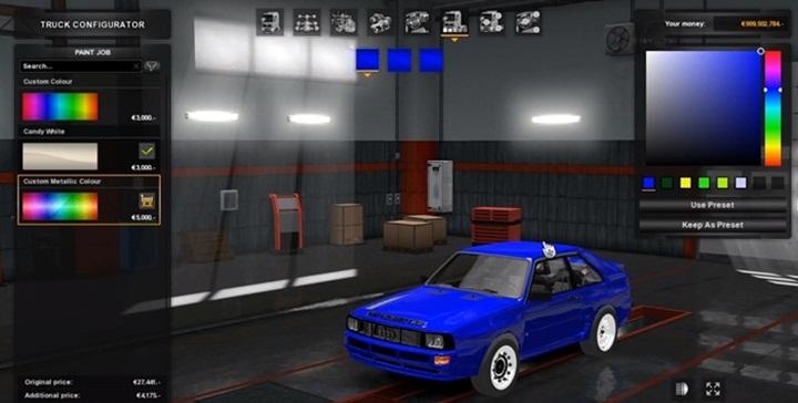 Photo of ETS 2 – Audi S1 Quattro 1984 Car Mod V1.5 (1.28.X)