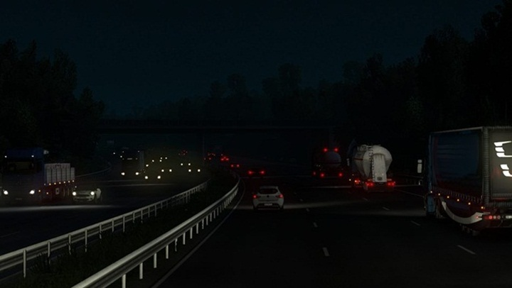 Photo of ETS 2 – Common Flare Mod (1.28.X)