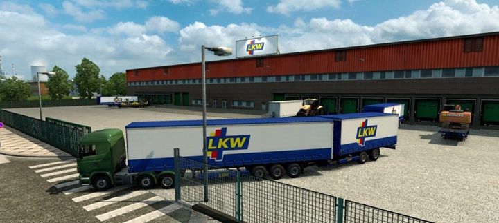 Photo of ETS 2 – Double Trailers in All Companies Across Europe Mod (1.28.X)