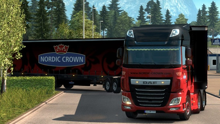 Photo of ETS 2 – Double Trailers with Dolly (1.28.X)