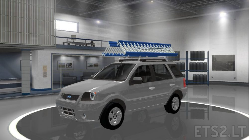 Photo of ETS 2 – Ford Eco Sport XLT 2008 Car Mod (1.28.X)