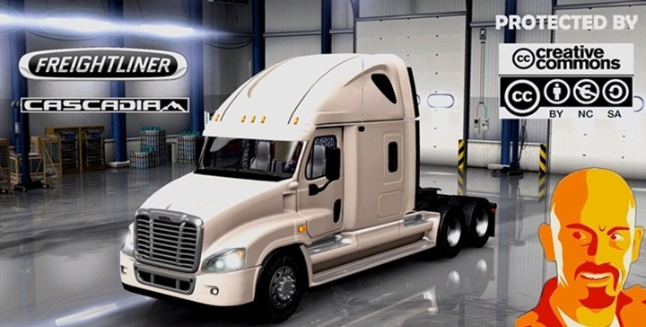 Photo of ETS 2 – Freightliner Cascadia Truck (1.28.X)
