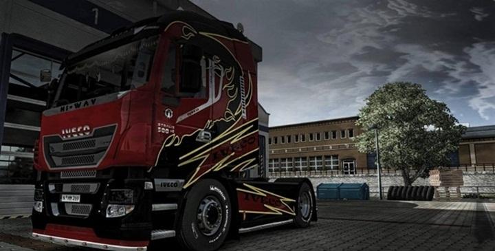 Photo of ETS 2 – Iveco Hi-Way Truck (1.28.X)