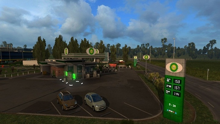 Photo of ETS 2 – Real Gas Station Mod (1.28.X)