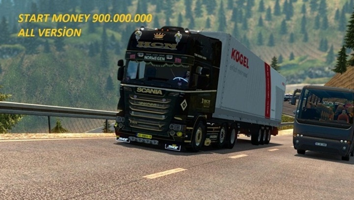 Photo of ETS 2 – Start Money Mod (1.28.X)