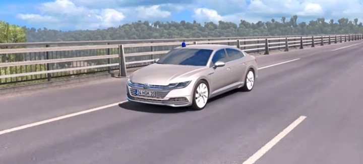 Photo of ETS 2 – Volkswagen Arteon 2018 Car Mod (1.28.X)