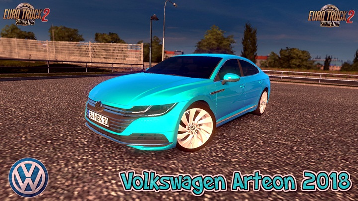 Photo of ETS 2 – Volkswagen Arteon 2018 V2 (1.28.X)