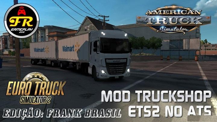 Photo of ATS – Truck Shop Mod V1.0 (1.28.X)