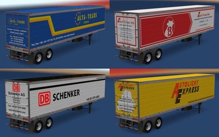 ATS – Trailer Pack Logistic Company v 1 0 (1 28 X) | Truck