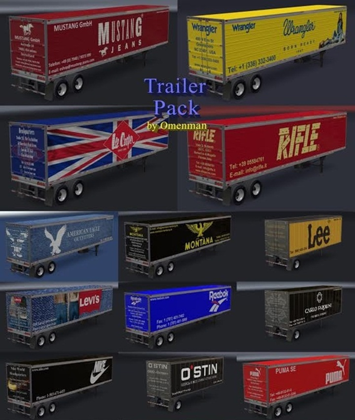 Photo of ATS – Clothing Trailer Pack V1.0 (1.28.X)