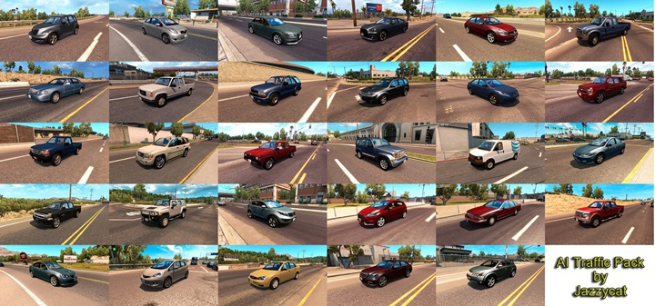 Photo of ATS – Al Traffic Pack V3.2 (1.28.X)