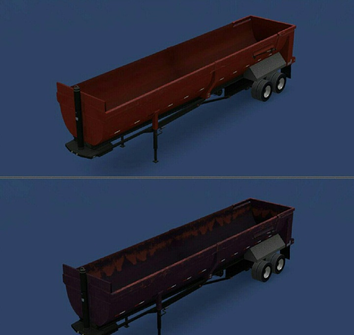 Photo of ATS – Empty Dumper Trailer Mod (1.28.X)