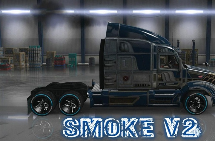 Photo of ATS – Exhaust Smoke & Al Traffic Mod (1.28.X)