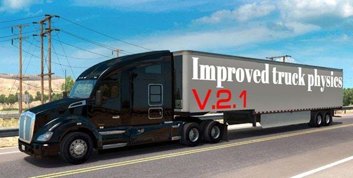 Photo of ATS – Improved Truck Physics Mod V2.1 (1.29.X)