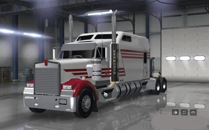 Photo of ATS – Kenworth W900 Long Remix Truck (1.29.X)