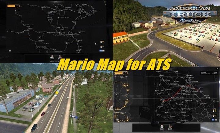 Photo of ATS – Mario Map (1.29.X)