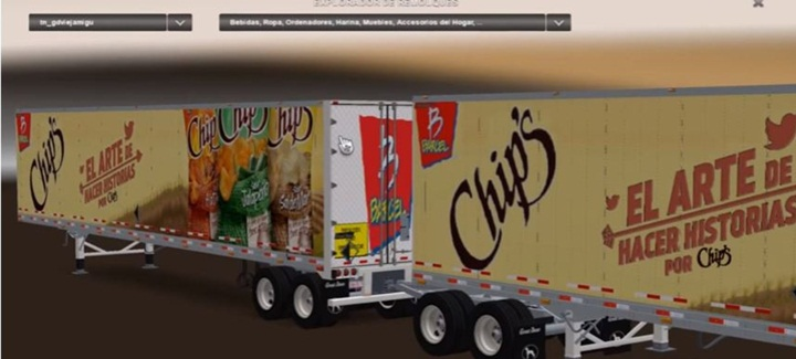 Photo of ATS – Mexican Skins for Great Dane 48′ Double Trailer v 4.0 (1.28.X)