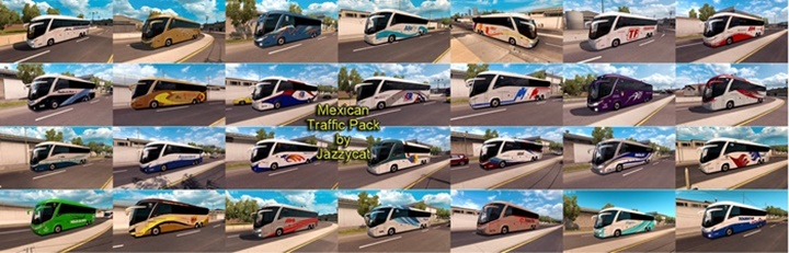 Photo of ATS – Mexican Traffic Pack v 1.6 (1.29.X)