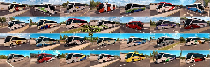 Photo of ATS – Mexican Traffic Pack v 1.5 (1.28.X)