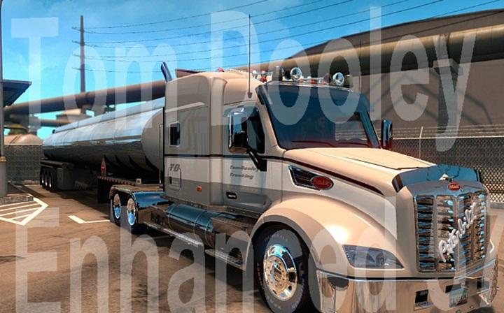 Photo of ATS – Peterbilt Enhanced 579 Truck (1.28.X)