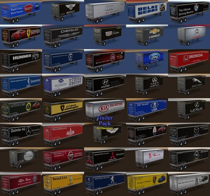 Photo of ATS – Trailer Pack 11.5 (1.28.X)