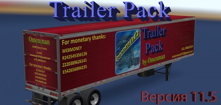 Photo of ATS – Trailer Pack 11.5 – English Addon (1.28.X)