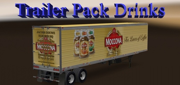 Photo of ATS – Trailer Pack Drinks 1.0 – English Addon (1.28.X)