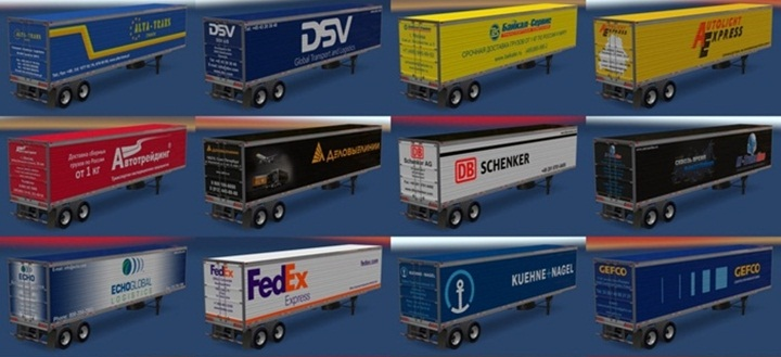 Photo of ATS – Trailer Pack Logistic Company v 2.0 (1.28.X)