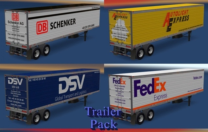 Photo of ATS – Trailer Pack Logistic Company v 1.0 (1.28.X)