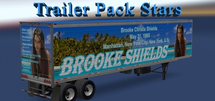 Photo of ATS – Trailer Pack Stars 3.0 – English Addon (1.28.X)