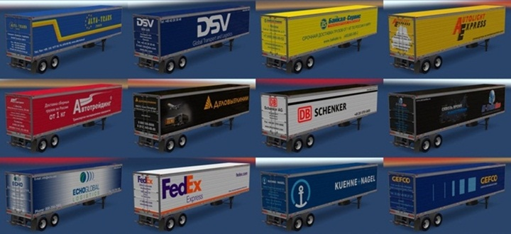 Photo of ATS – Trailer Pack v 11.6 (1.28.X)