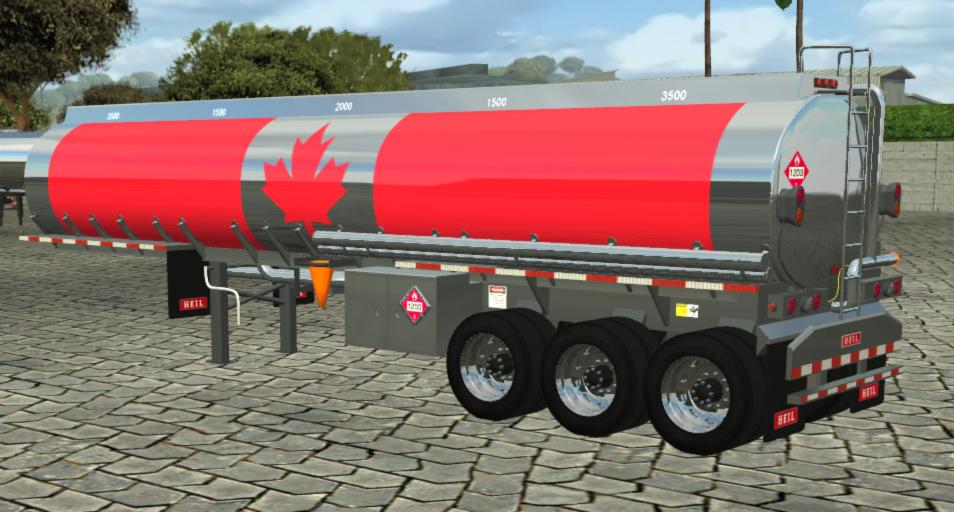 Photo of 18 WoS Haulin – Canada Gasoline Tanker