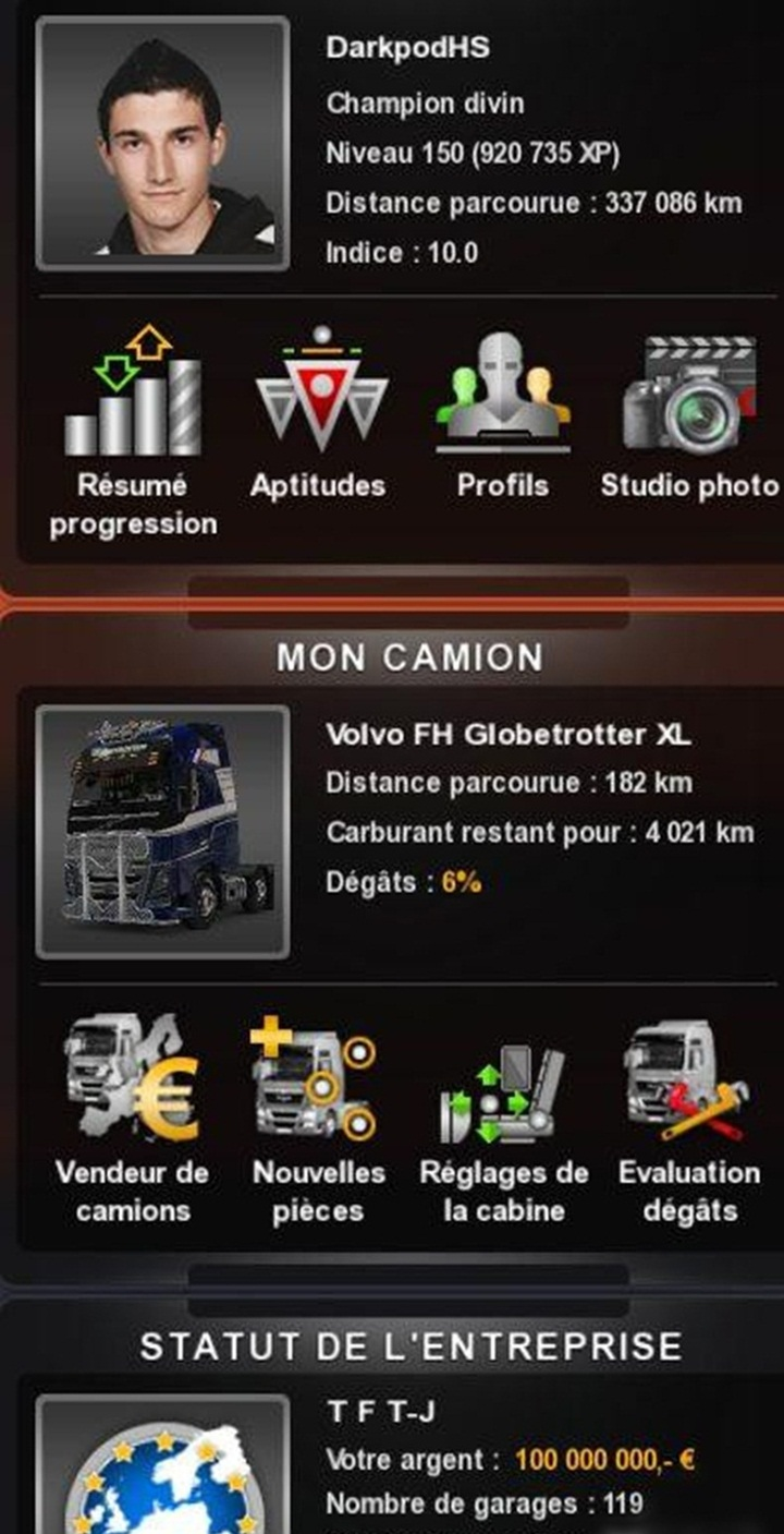 Photo of ETS 2 – %100 Save Mod (1.28.X)