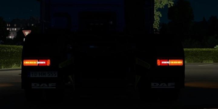 Photo of ETS 2 – DAF XF Facelift Rear Lights (1.28.X)