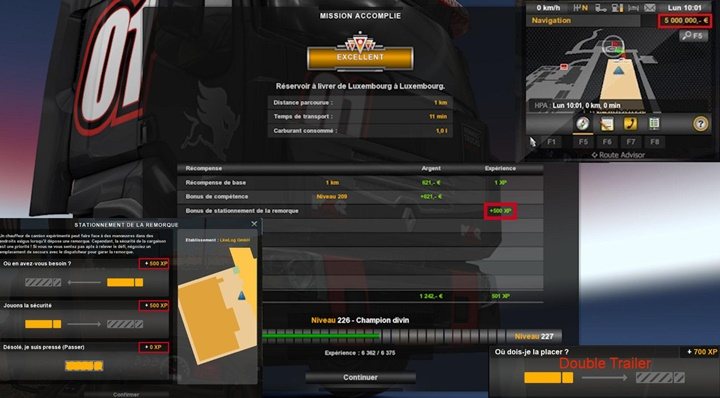 Photo of ETS 2 – Fast Level & More XP (1.30.X)