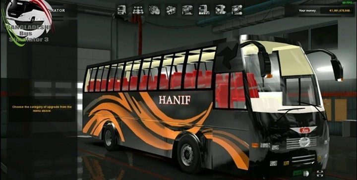 Photo of ETS 2 – Hino Ak1J Capsul Body Bus Mod with Bd Skin (1.30.X)