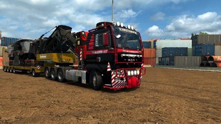 Photo of ETS 2 – MAN TGX 2010 V4.0 Truck (1.28.X)